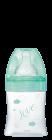 Initiation+ anti-colique verre 150ml vert Oiseaux 0-6 mois tétine ronde 3 vitesses débit 1