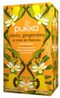 20 sachets immunité Citron Gingembre & Miel de Manuka bio