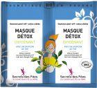 SECRETS DES FEES Masque BIO peel-off détox oxygénant 2Sachets de 8g