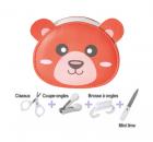 Set de manucure bébé ourson