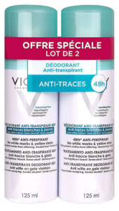 Anti-traces aérosol 2x125ml
