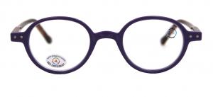 B Lunettes +1.00 violet/marron