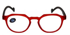 FALUN Lunettes +2.50 rouge/noir