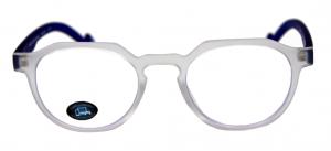 TAO Lunettes +0.00 transparent/bleu