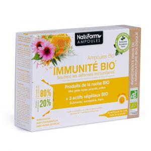 Complexe Immunité BIO ampoules 10ml boite de 20