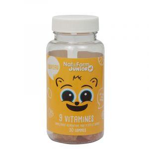 Ours +9 vitamines boite de 30