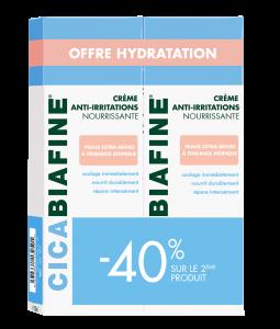 Duo Crème corps anti-irritations 200ml -20% sur le lot