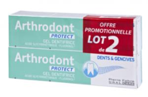 Gel dentifrice fluoré Protect Lot de 2x75ml