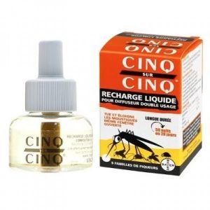 35ml Recharge liquide anti-moustique pour diffuseur double usage
