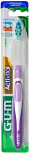 Brosse à dents medium compacte coloris aléatoire