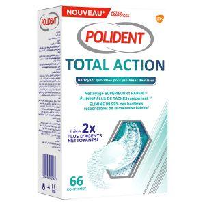 Nettoyant Total Action comprimés boite de 66
