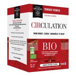 Circulation 10ml boite de 20