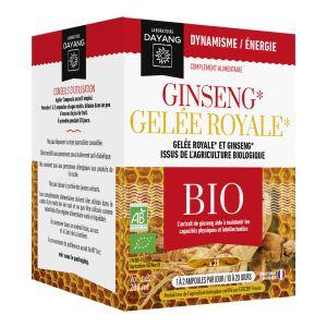 Ginseng-gelée royale 10ml boite de 20