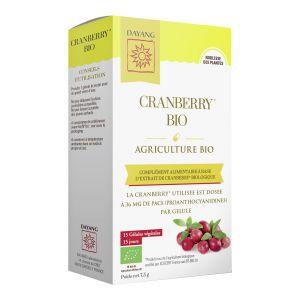 Cranberry boite de 15