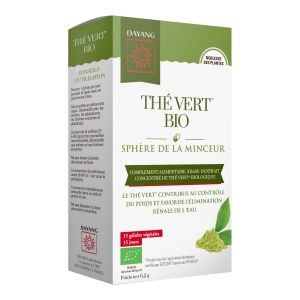 Thé vert boite de 15