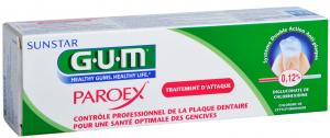 Gel dentifrice traitement d'attaque 75ml