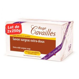 2 pains extra-doux 2x250g