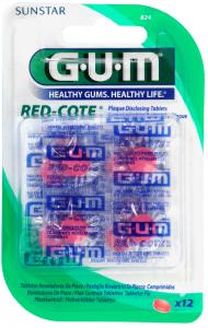Red Cote révélateur de plaque comprimés boite de 12