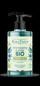 Shampoing doux à l'huile de chanvre et aloe vera BIO 750ml