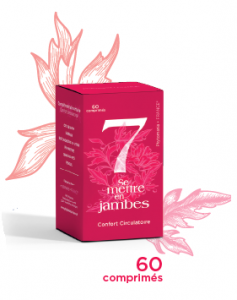 N° 7 Se mettre en jambes 60 comprimés