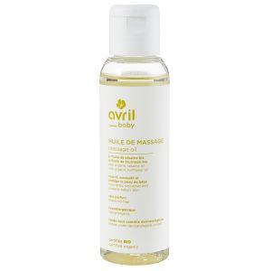 huile de massage bio 100ml