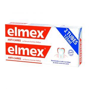 Dentifrice anti-caries 2x125ml