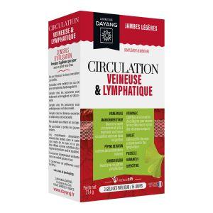 Circulation veineuse et lymphatique boite de 45