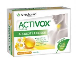 pastilles sans sucre miel citron boite de 24