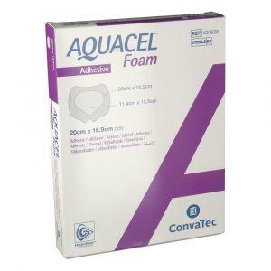 Pansement hydrocellulaire bord adhésif siliconé stérile 20 cm x 169 cm boite de 10