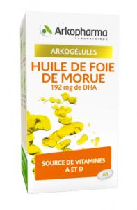 huile de foie de morue capsules boite de 60