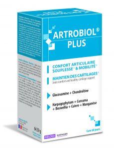 Boite de 120 gélules Artrobiol Plus confort articulaire & mobilité