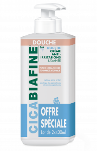 Duo Crème douche anti-irritations 2x400ml Offre spéciale