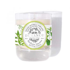Bougie naturelle parfumée Pétillante Verveine 180g