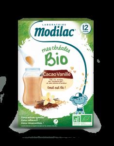 Bio cacao vanille 250g