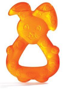 Anneau de dentition lapin réfrigéré orange