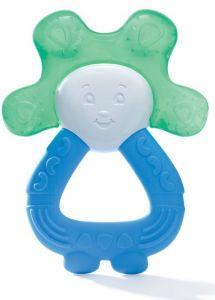 Anneau de dentition réfrigéré 2 en 1 bleu/vert