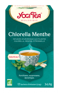 Chlorella Menthe boite de 17