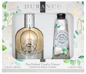 Coffret parfum et crème mains Camélia Eclatant