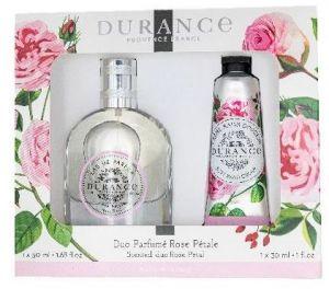 Coffret parfum et crème mains Rose pétale