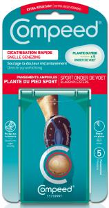 Pansement ampoule plante du pied sport boite de 5