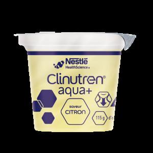 Eau gélifiée aromatisée Citron 4x125g