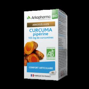 curcuma pipérine bio boite de 40
