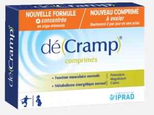 boite de 30 comprimés contre les crampes