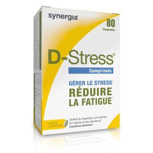 80 comprimés stress et fatigue