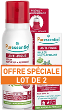 Offre spray anti-pique 75ml + Roller apaisant anti-pique 5ml