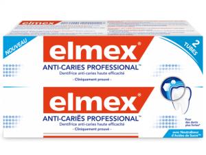 Dentifrice anti caries professional 2x75ml