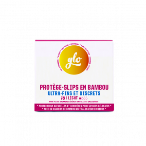 Pack de 16 Protège-slips anti-fuites en Bambou Bio