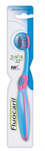 Brosse à dents junior 7-12ans extra-souple
