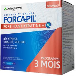 fortifiant kératine gélules boite de 180