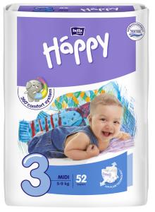 52 couches bébé taille 3 5-9kg